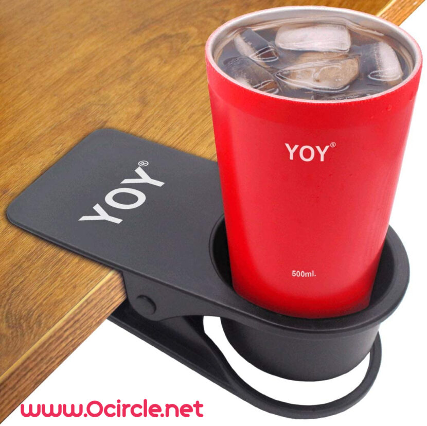 Wall and Table Desk Cup Holders